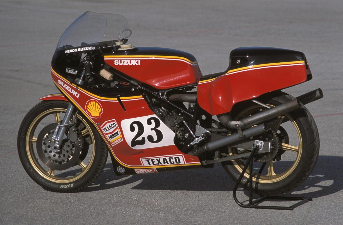Prueba Suzuki XR23B RG 650: palabra de Barry Sheene