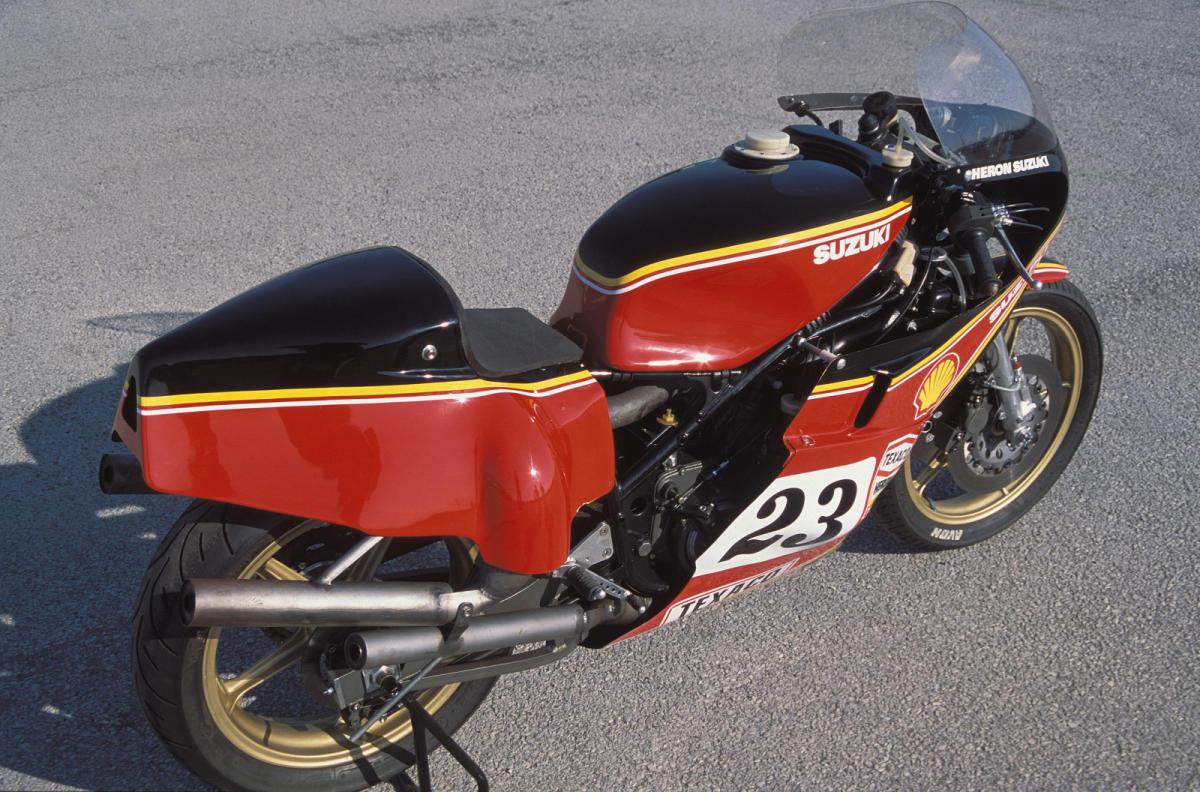 Suzuki XR14 RG500 1976 Barry Sheene