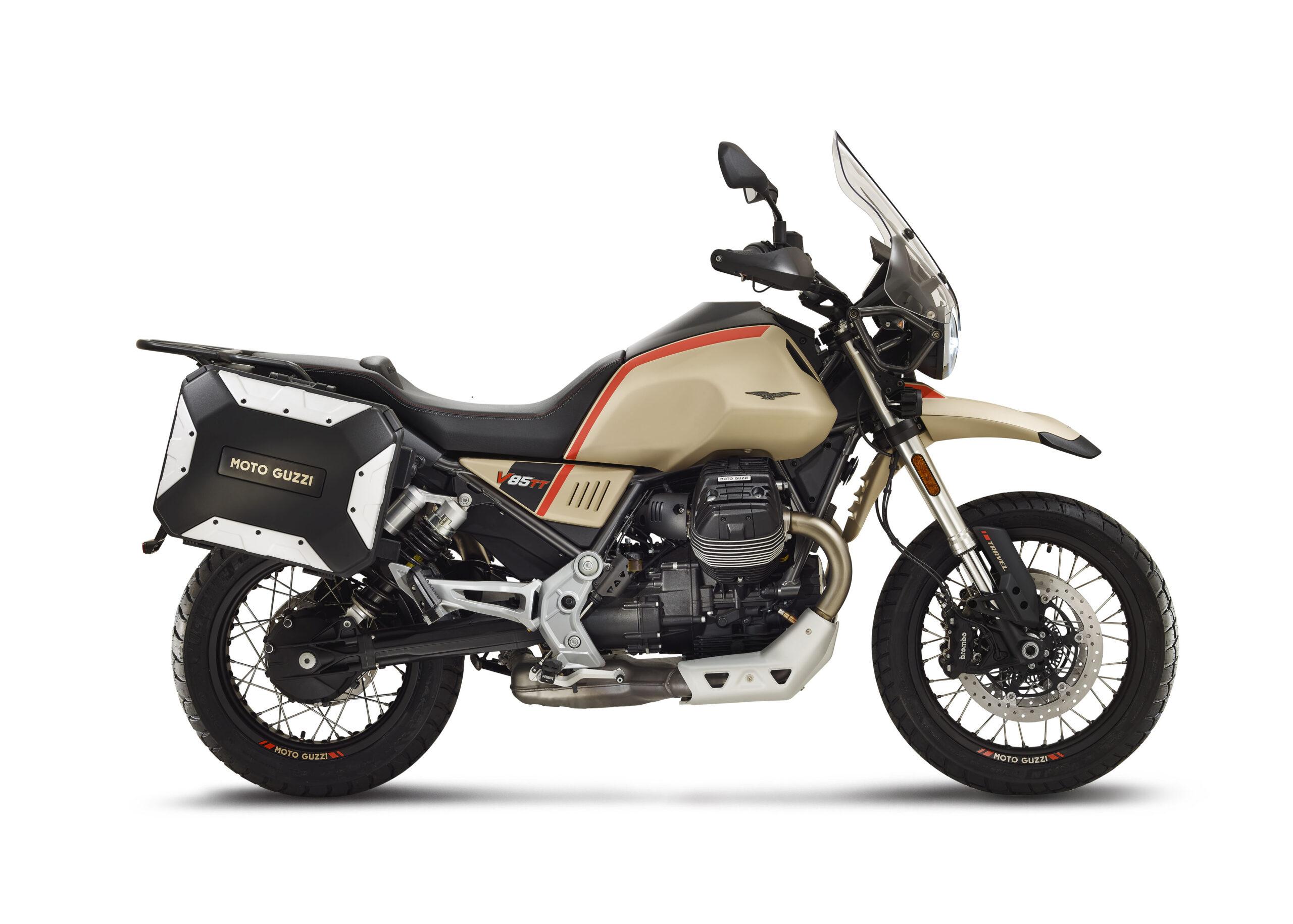 Moto Guzzi V85TT Travel 2020: la trail viajera de Moto Guzzi