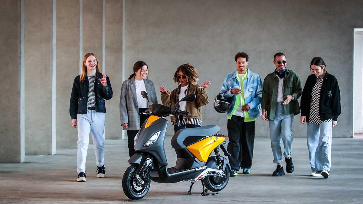 Piaggio One: primer vistazo al nuevo scooter 100% eléctrico de la marca italiana