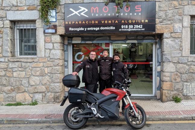 100000km en moto electrica xr motos