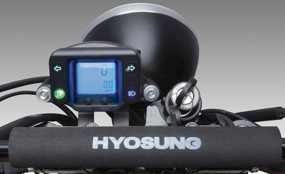 Hyosung RT 125D Karion (2.199 -)