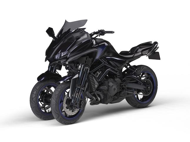 Yamaha MWT-9: Una MT-09 de tres ruedas