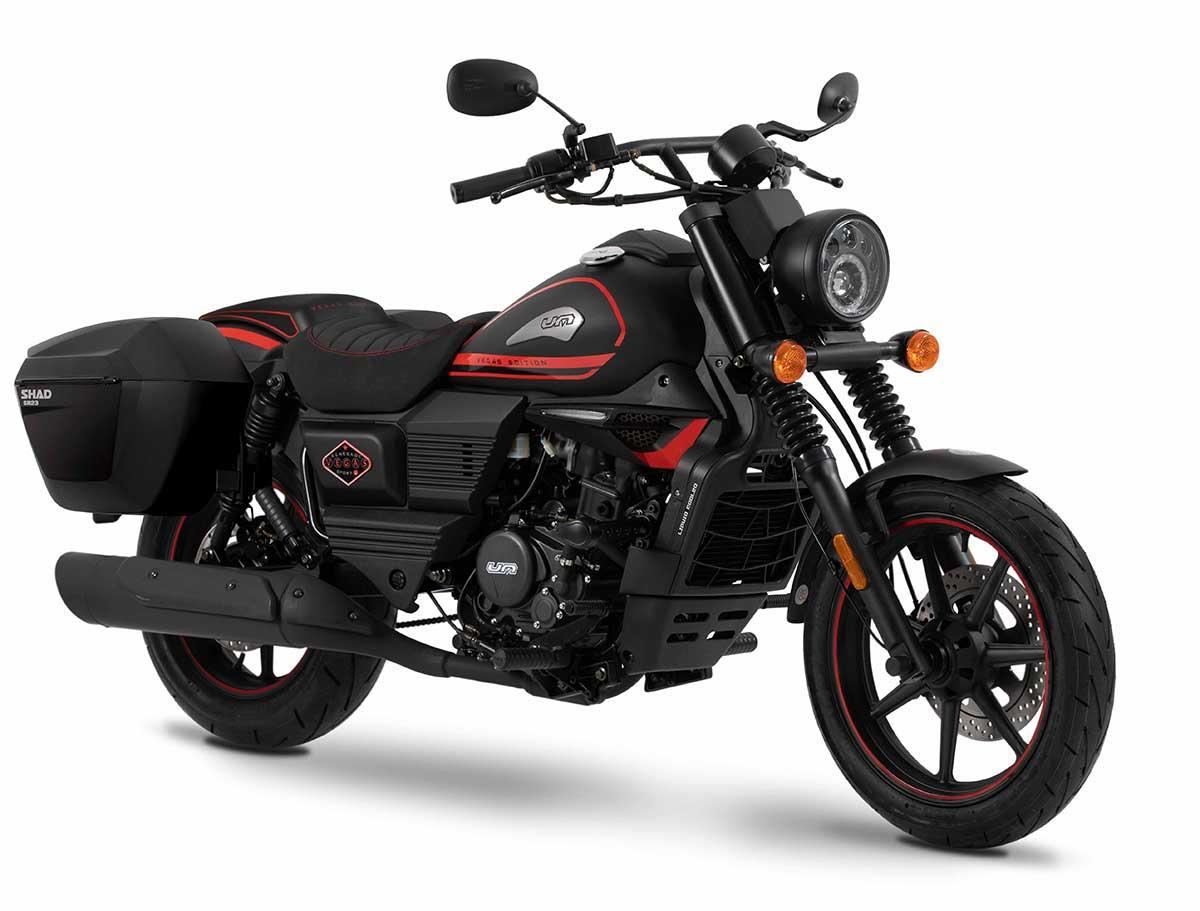 UM Motorcycles presenta los nuevos accesorios para la gama Renegade