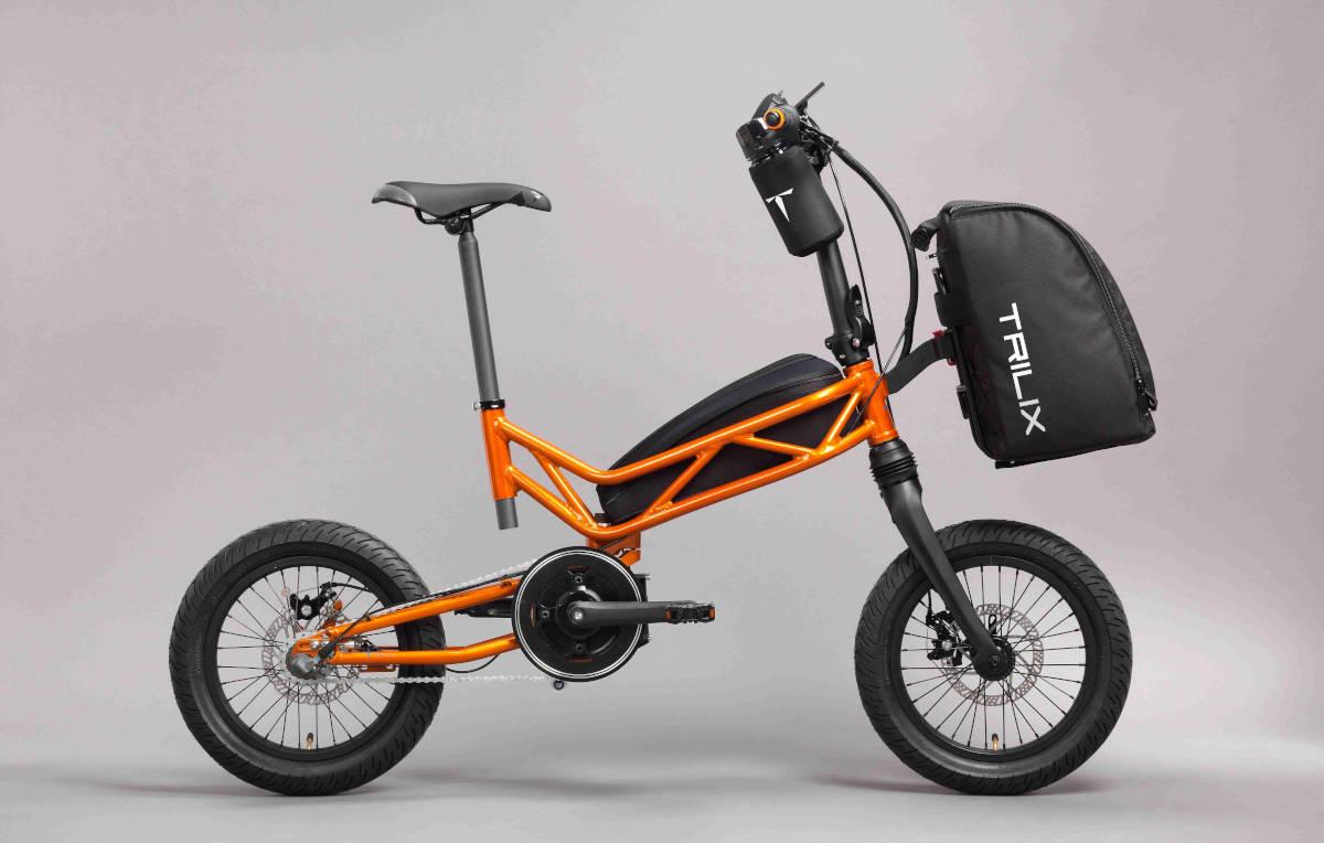 Trilix: así es la nueva e-bike plegable de Moto Parilla