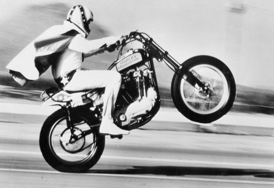 Harley-Davidson rinde homenaje a Evel Knievel