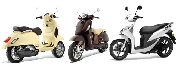 Novedades 2012 Honda Visión 110 16-/Vision 50 / Lambretta LN125 / TGB Bellavita