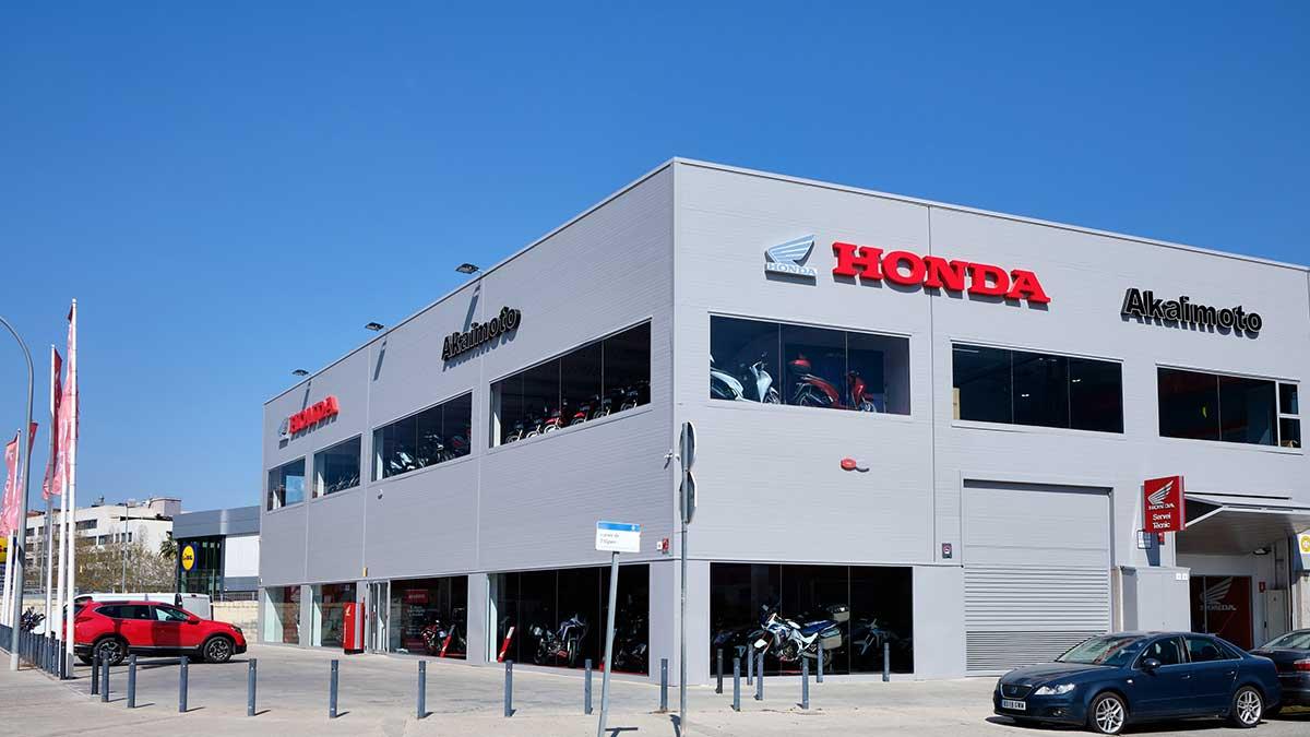 Akaimoto, nuevo concesionario oficial de Honda en Barcelona