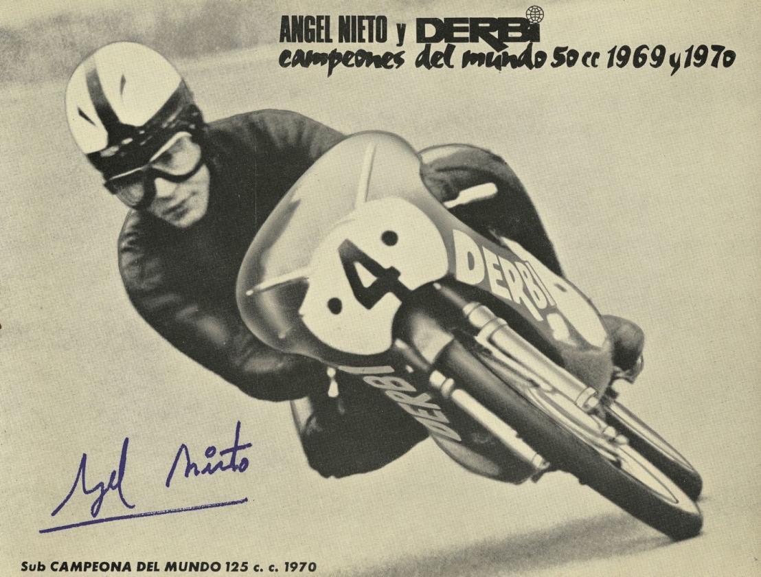 69 años de modelos Derbi 50 cc