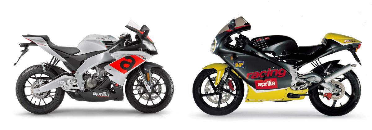 Aprilia RS 125 4T vs. Aprilia RS 125 2T