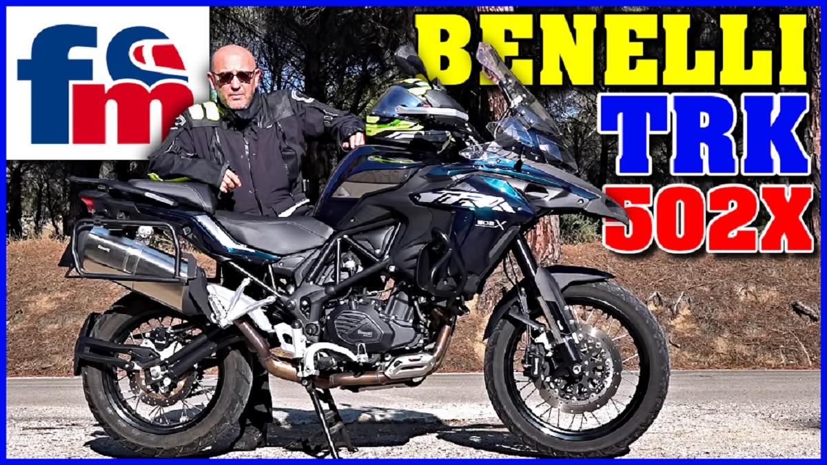 (VÍDEO) Benelli TRK 502 X: Prueba