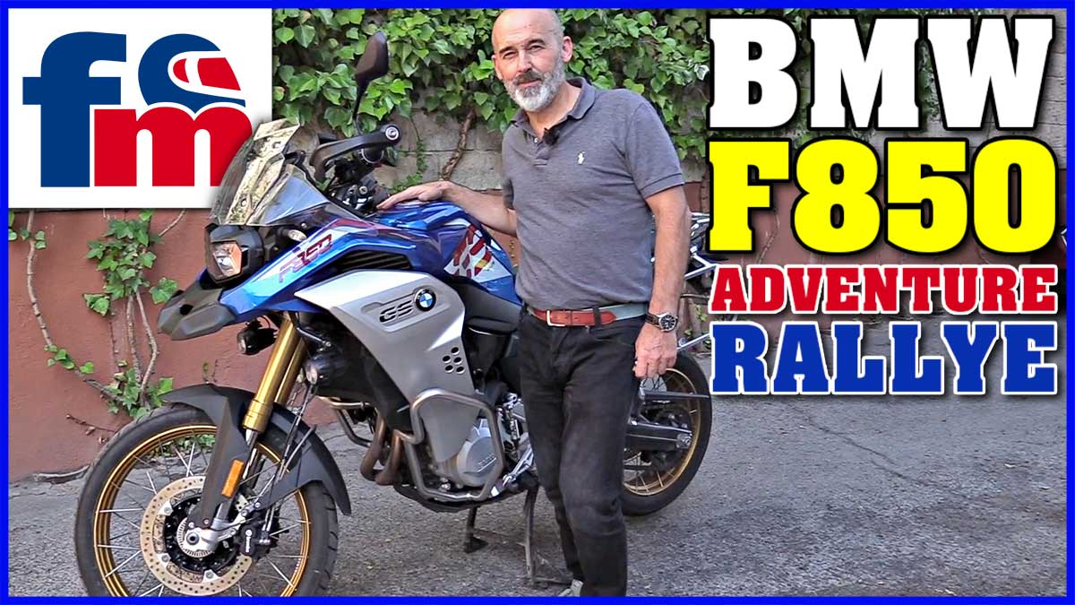 bmw f850 gs adventure rallye