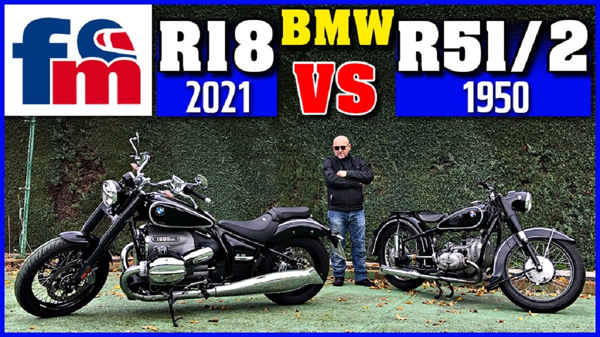 bmw r18 2021 vs bmw r51