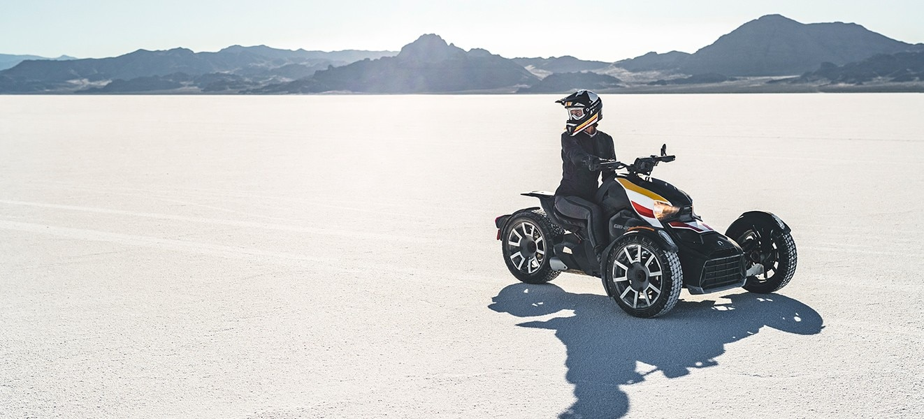 Can-Am Ryker: un tres ruedas diferente