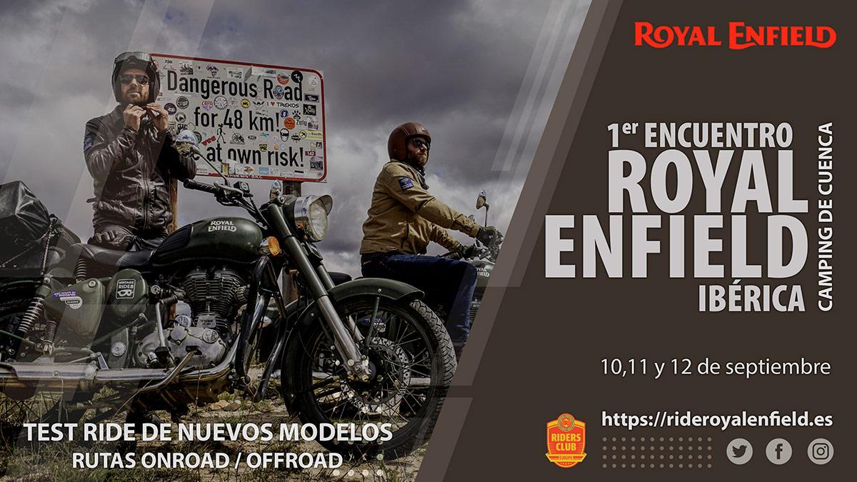 El primer encuentro Royal Enfield en España tendrá lugar en septiembre