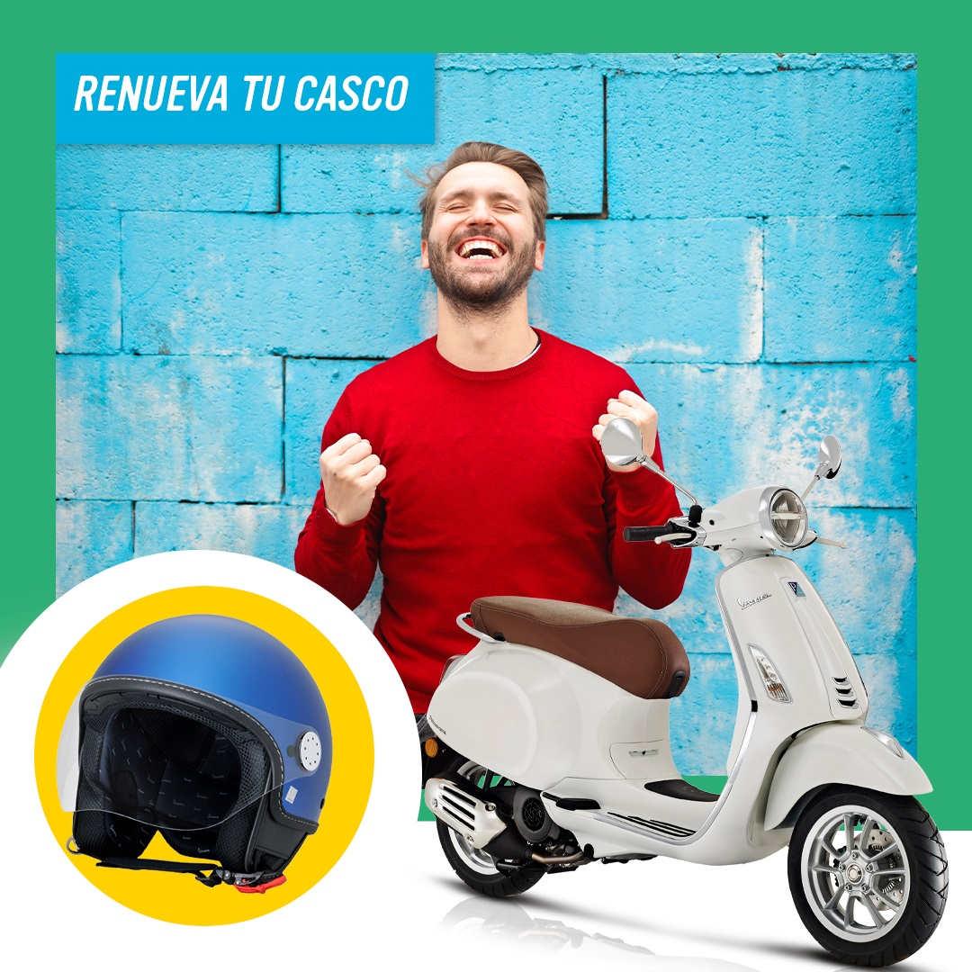 Plan Renove Cascos de Piaggio: descuentos en varios modelos de Piaggio y Vespa