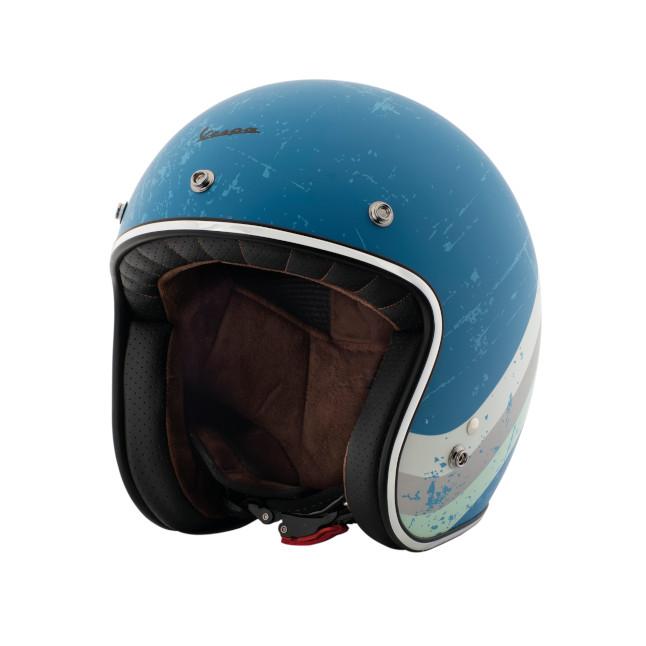 casco vespa heritage azul cina