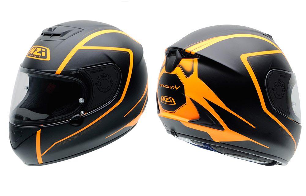 Casco de moto NZI Spyder V: así son sus nuevas gráficas