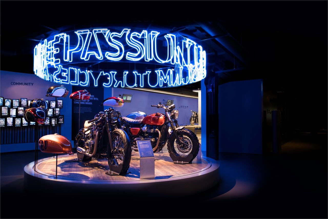 Triumph abre su fábrica de Hinckley para todos los públicos