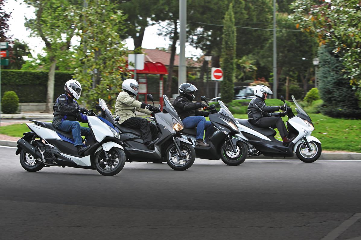 Comparativa scooter 125 cc:  los mejores japoneses