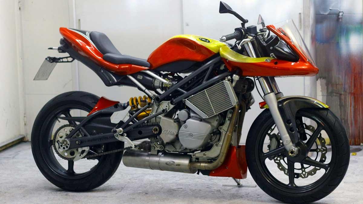 La CR&S Vun vuelve de la mano de Given MotoDesing