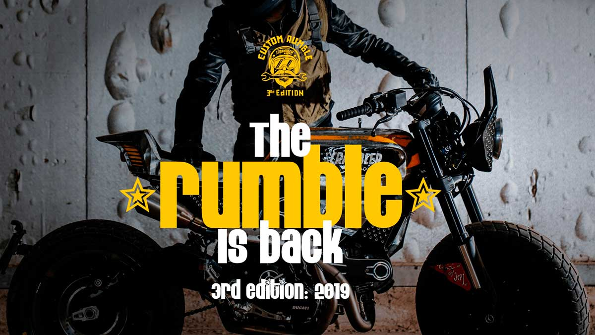 Custom Rumble: ya puedes votar a tu Ducati Scrambler favorita