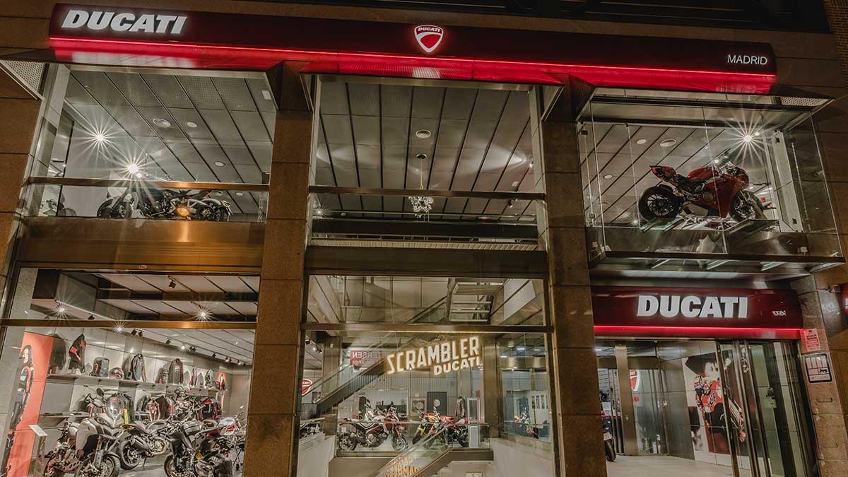 Ducati Madrid Sur ya prepara su apertura en X-Madrid