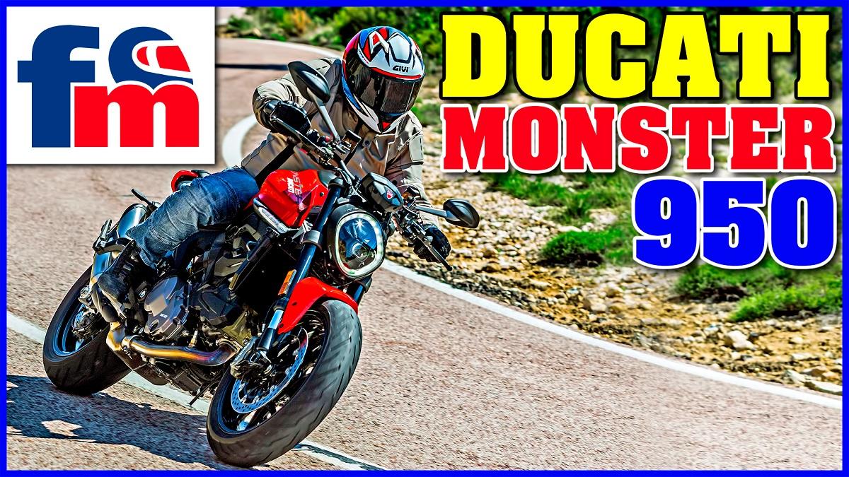 (VÍDEO) Ducati Monster 950
