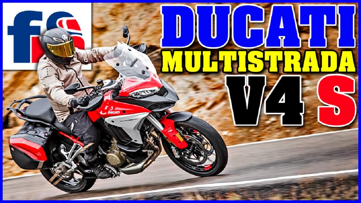 (VÍDEO) Ducati Multistrada V4