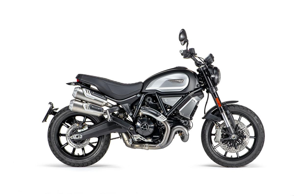 Scrambler Ducati 1100 Dark Pro: novedad 2021 en negro azabache