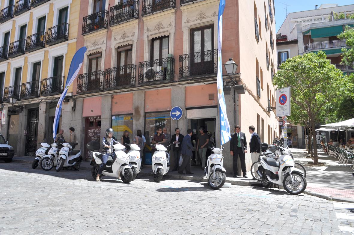 eCooltra llega a Madrid