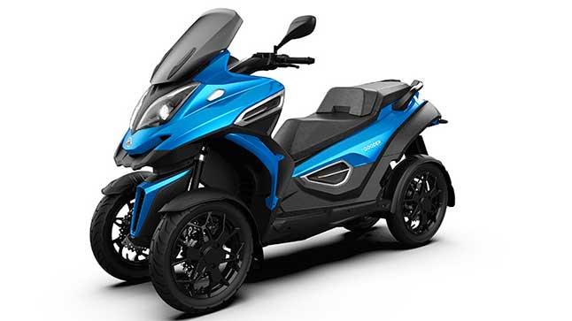 Quadro eQooder: el scooter de cuatro ruedas se vuelve eléctrico