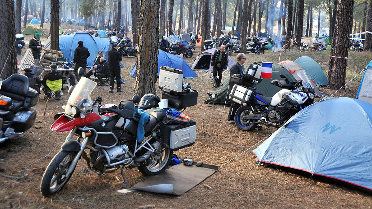 foto acampada la leyenda