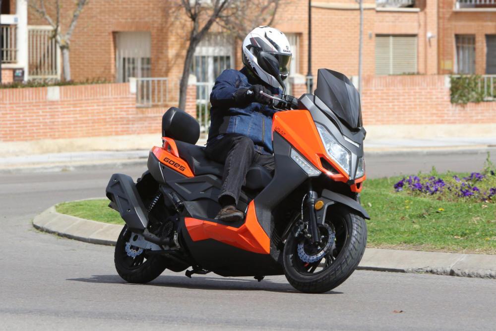 Prueba Goes G125 GT, un scooter GT ciudadano