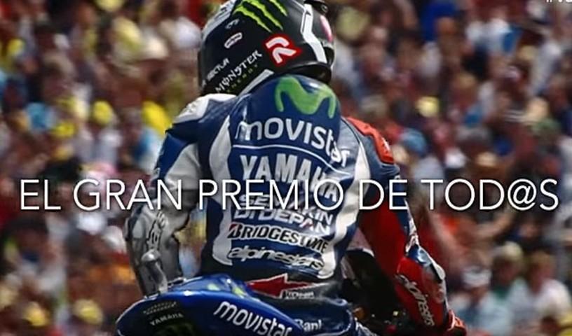 G.P. de Valencia de MotoGP: un vídeo promocional dedicado a todos los moteros