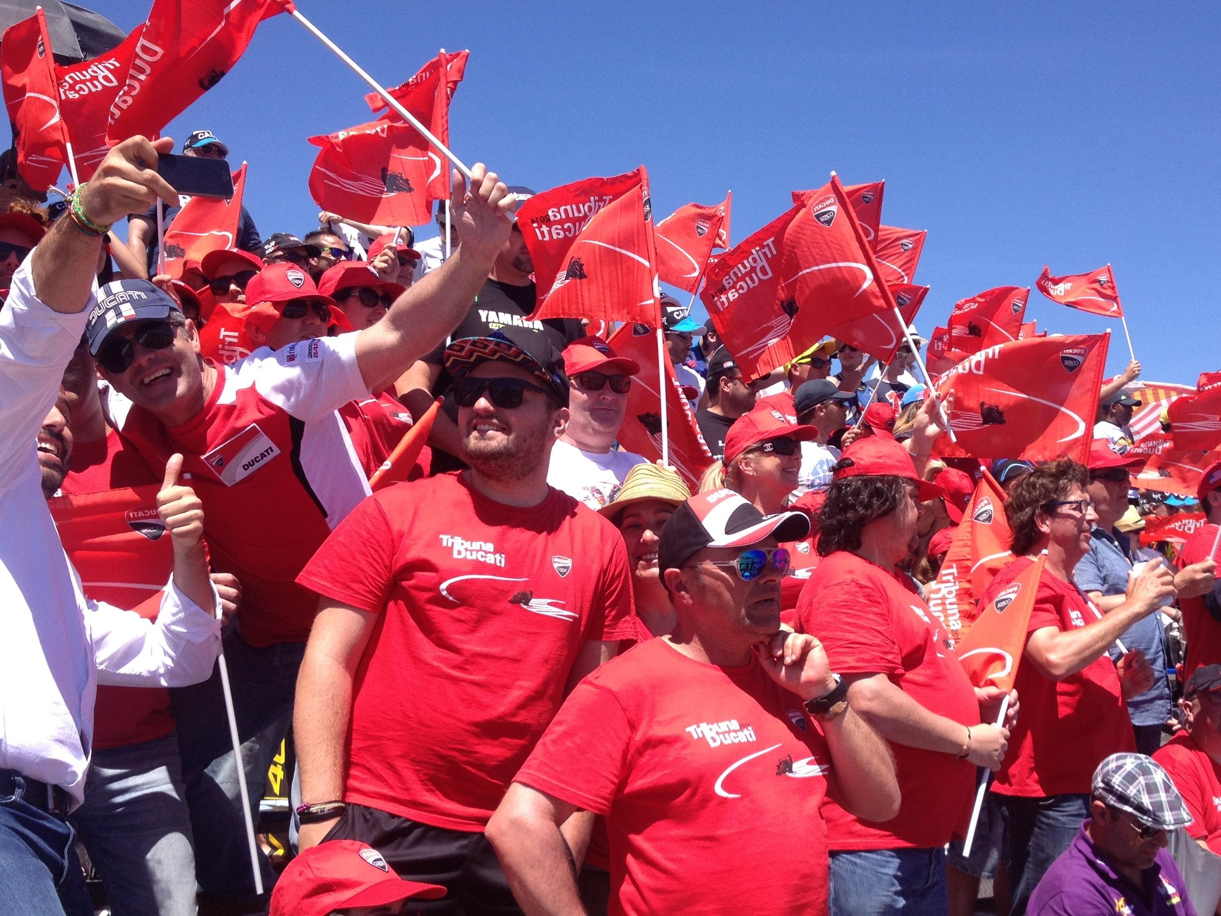 Ya puedes comprar tu entrada para la Tribuna Ducati en el G.P. de España de MotoGP