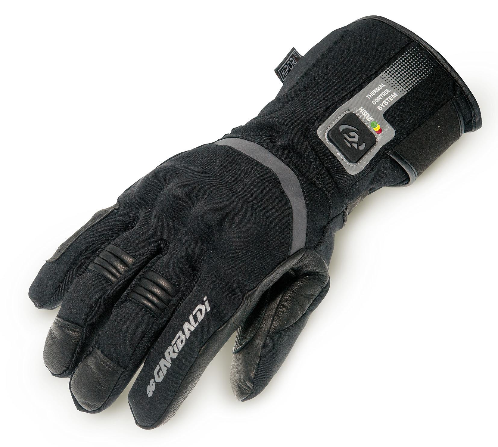 Garibaldi presenta sus nuevos guantes calefactables para moto