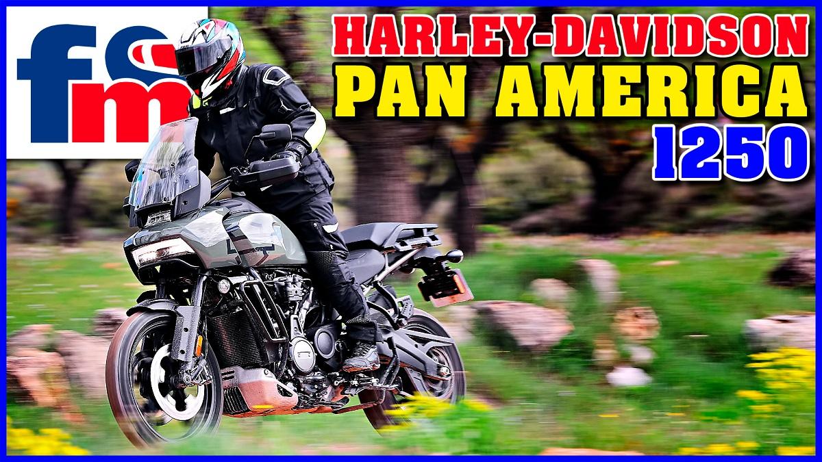 (VÍDEO) Harley-Davidson Pan America 1250