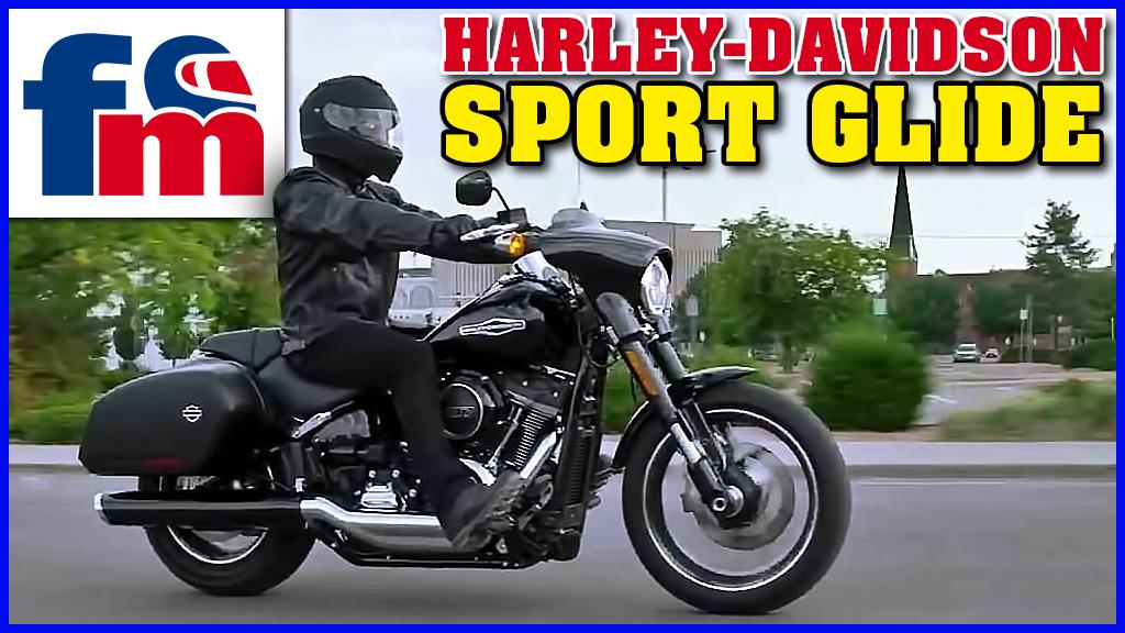 (VÍDEO) Harley-Davidson Sport Glide: Prueba