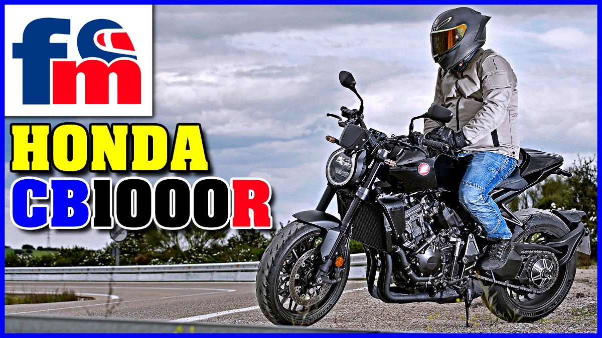 (VÍDEO) Honda CB 1000 R Black Edition