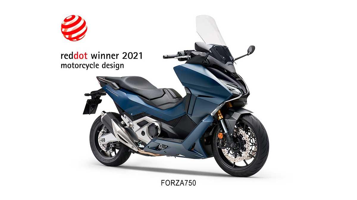 honda forza 750 red dot awards
