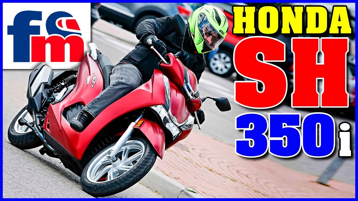 (VÍDEO) Honda SH 350i