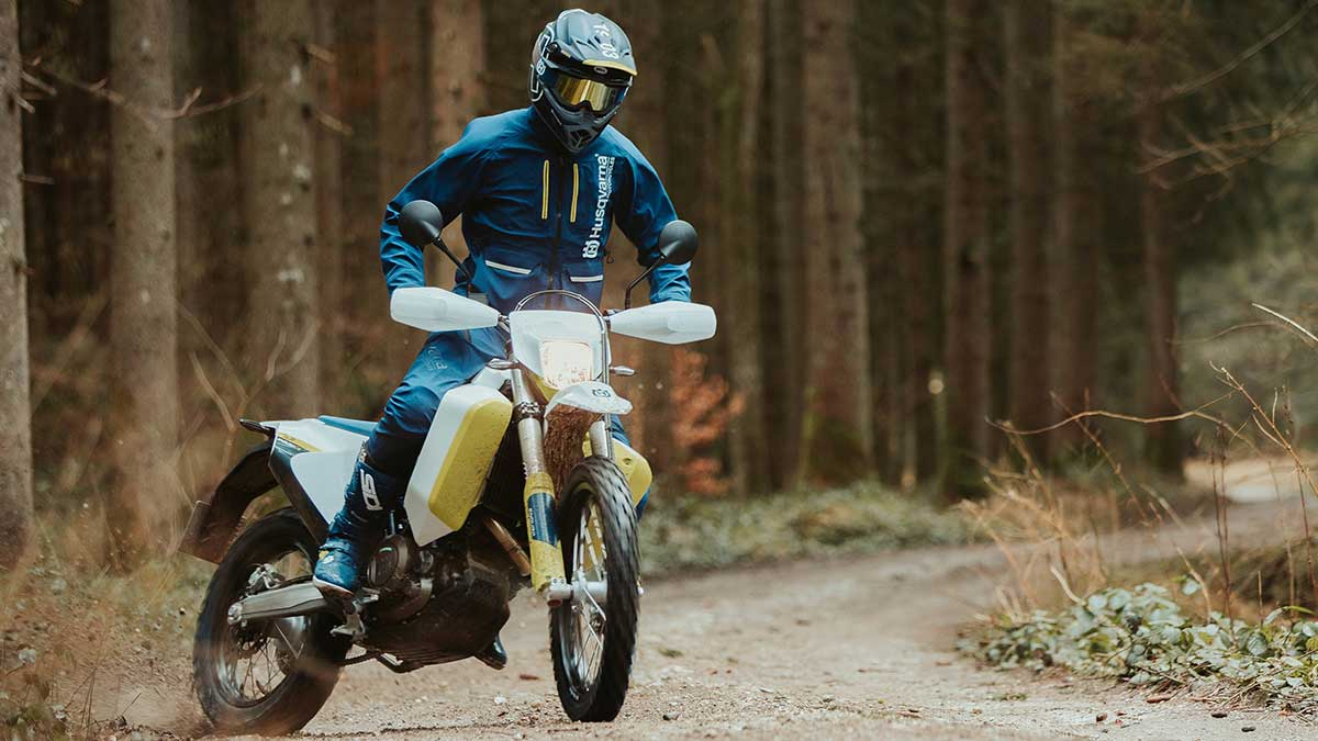 husqvarna motorcycles 701 enduro lr hits dealer floors