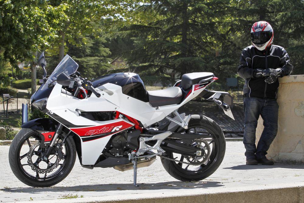 Hyosung GD 250 R-EXIV: carné A2 supersport