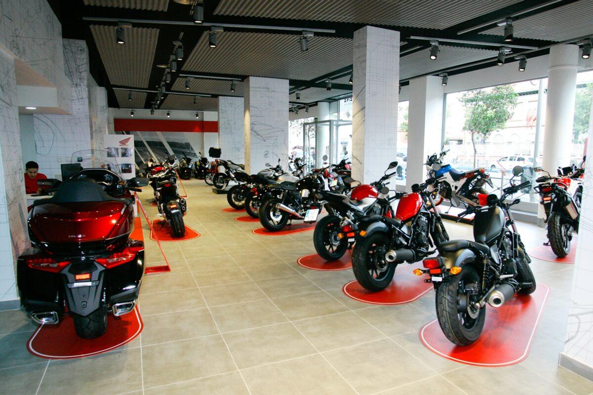 ikono motorbike madrid2