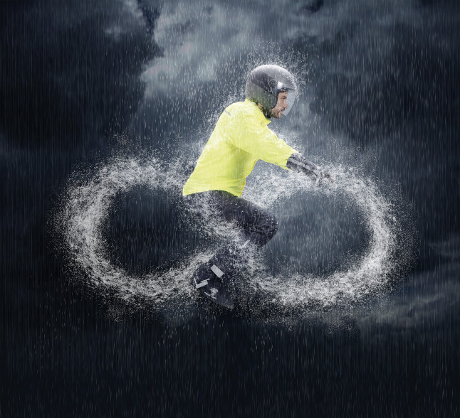 infinito pioggia