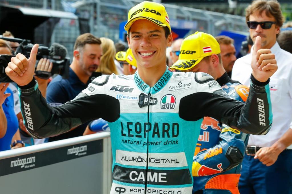 Joan Mir dará el salto a Moto2 y correrá en el Estrella Galicia 0,0 Marc VDS en 2018