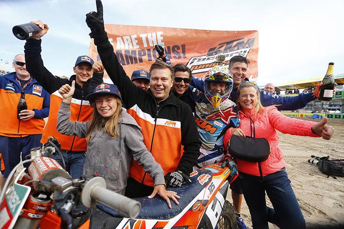 Así ganó Jorge Prado el Campeonato de Europa de Motocross