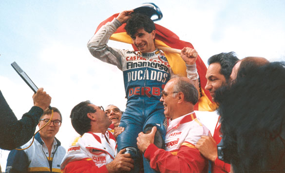 Jorge Martínez «Aspar» será nombrado leyenda de MotoGP
