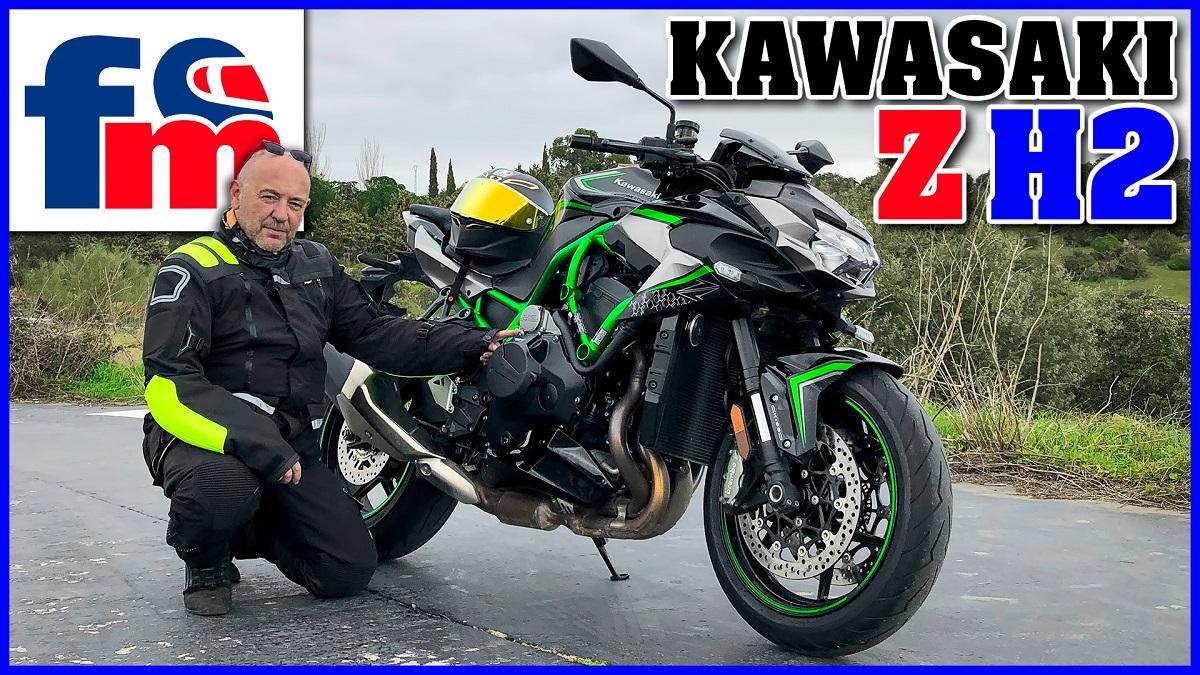 (VÍDEO) Kawasaki Z H2